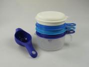 Tupperware bake Kitchen Aid Lemon Press Separator + Small Sieve Baking Accessories P 20844