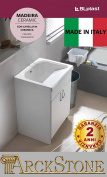 arckstone Unit lavapanni Bath Garofalo blplast Madeira Ceramic 60 x 50 Bath Ceramic with Wringer