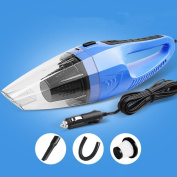 ZGFlhq Car Mounted Suction Device Wet And Dry Dual Purpose Suction Machine Vacuum Cleaner Mini Vehicle Articles 75W 36.5×10× 10.5Cm