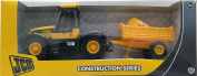 Christmas Toy - JCB Toy Fast Tractor and Trailer, 25cm