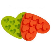 ReadiMax£¨TM)DIY Heart Shape Silicone Cake Decoration Cookie Soap Mould Mould Ice Cube Tray