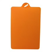 VANKER 1Pc Orange Flexible Plastic Cutting Boards Food Chopping Blocks Cutting Mats Kitchen Tools