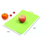 VANKER 1Pc Green Flexible Plastic Cutting Boards Food Chopping Blocks Cutting Mats Kitchen Tools