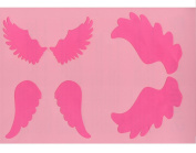 A5 Various Christmas Angel Wings Stencil for Crafts | Craft Cutting Tools