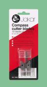 Jakar Compass & Circle Cutter 12 Spare Refill Replacement Blades & 2 Leads Jakar 7365B