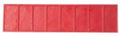 BonWay 12-620 22cm x 90cm Cut Stone Border Urethane Texture Mat for Decorative Concrete