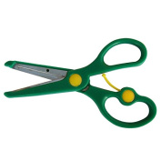RIGHT HANDED GREEN SPRING ASSISTED SCISSORS