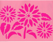 A5 Sunflower Stencil for Crafts | Craft Cutting Tools