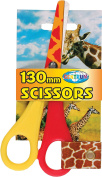 CENTRUM 130 mm Animal Design Scissor Rounded for Safety - Assorted