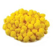 Creation Station Poms in Assorted Sizes, Easter Yellow
