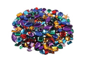 Creation Station 250 g Approximately 250 Acrylic Gemstones , Assorted Colours