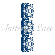 Tattered Lace Die - Hidden Amore Edge - Paper Card Cutting - Stephanie Weightman