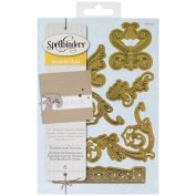 Spellbinder Paper Arts Shapabilties Architectural Accents Imperial Gold, Gold