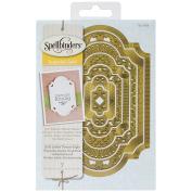 Spellbinder Paper Arts Nestabilties Labels Twenty Eight Enhancing Elements Imperial Gold, Gold