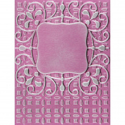 Spellbinder Paper Arts Ornate Labels One M-Bossabilities Embossing Folder