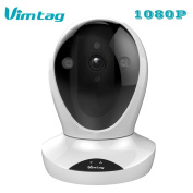 Vimtag®[Fencer 1080P HD] WiFi Wireless Security IP Camera, Face detection,Plug/Play, Pan/Tilt with Two-Way Audio and Night Vision, Video Monitor,Surveillance,Motion Detection .