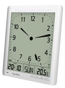 Youshiko Radio Control ( UK Version ) Digital Analogue - Style Silent Wall Clock
