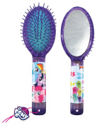 My Little Pony Hair Brush, Mirror and Hair Clips