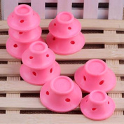 Ladies Soft Silicone Roll Hair Maker Curlers Roller
