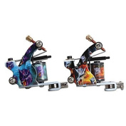 GAG-Tattoo machine @ New Style Tattoo Machine 10 Wrap Coils Liner and Shader Tattoo Guns Supplies , liner & shader