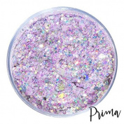 Unicorn Poop Face Body And Hair Glitter Mix Serenity Holographic Light Pink