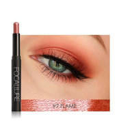 Msmask Pearl Eyeshadow Pencil Fashion Fast Drying Smooth Cosmestic Gift Beauty