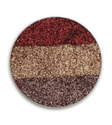 TZ COSMETIX - Glitter Injections Single Huge Eyeshadow Pan Rainbow Gradient Glitter Pressed Cosmetics - U can Fill it in Magnet Palette