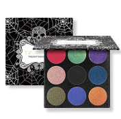 TZ COSMETIX - 9 Colours Twilight Eyeshadow Pallete Matte & Shimmer Eye Shadow Palette for Halloween Party TZ9E
