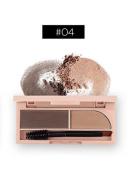 ThinkMax Eyebrow Cream Long-lasting Eyebrow Powder Waterproof Eyebrow Cream Makeup Cosmetics Beauty Tools 2 Colours