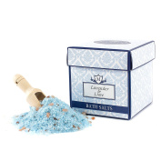 Mystix London | Lavender & Lime Essential Oil Bath Salt - 350g