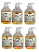 biomeda – 6 conf of Bio Tea Tree Liquid Soap 300 ml without Colourings, with Ingredients Bio