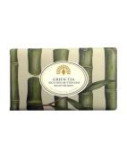 Vintage Wrapped Soap - Luxury Fragrance Bath Soap - Green Tea Bath Soap 200g