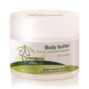 "OLIVELIA BODY BUTTER ""NO AROMA"" OLIVE OIL WHITE TEA & BEESWAX 200 ML."
