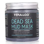Danapp Dead Sea Mud Mask, Beauty Dead Sea Mud Mask for Facial Treatment, 100% Natural and Organic Deep Skin Cleanser for Face, Acne, Oily Skin Blackheads, Care for dry and Improve skin Complexion 250g / 260ml
