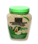 First Lady Activated Cucumber & Avocado Scrub Cream 540ml - Blemish & blackhead control - Face & Body + First Lady Herbal Hair Oil 30ml