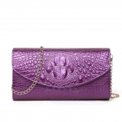 Female Fashion Handbag Bag Shoulder Bag Evening Bag,Purple