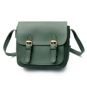 Mefly The New School Style Female Retro Pu Magnetic Buckle Single Shoulder Bag Fashion All-Match