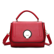 Great Strange Ladies Bag Hand-held oblique cross shoulder bag Three Colours Shopping Work Tourism Daily , red