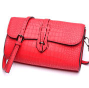 Woman New Style Fashion PU stitching Colour Plaid High-capacity Single Shoulder Bag Inclined Shoulder Bag