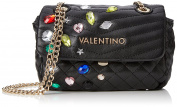 Valentino by Mario Valentino Womens VBS2E002 Tamarindo Satchel Black
