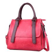 YouPue Women Handbag Vintage Tote Bag PU Leather Shoulder Handbags Large Capacity for Travel Work