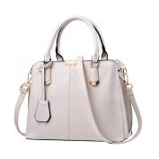 BIUBIUboom Women PU Leather Top Handle Satchel Handbags Tote Purse