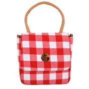 Meliya Women Fashion Handbag New Plaid Pattern Top Handle Bag Shoulder Bag Cross-Body Bag