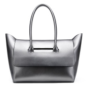 NUCLERL Genuine Leather Handbags for Ladies Official Style Top Handle Bags Large Tote Bags for Women