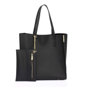 Womens Tote Handbags Ladies Celebrity Style Bags Large Faux Leather Shoulder New With Removable Pouch