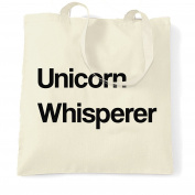 Always Be A Unicorn Whisperer Shopping Tote Bag Cool Birthday Gift Present
