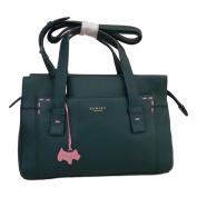"RADLEY ""Villiars Road' Green Leather Medium Multiway Bag - RRP £199"