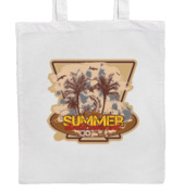 SUMMER SHOULD NEVER END Shopping/Tote/Bag For Life/Shoulder Bag By Mayzie Designs®