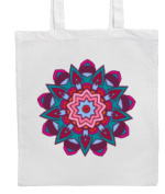 Ethnic/Boho/Hippy/Chic MANDALA Shopping/Tote/Bag For Life/Shoulder Bag By Mayzie Designs®