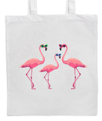 Pink Flamingos In Sunglasses Shopping/Tote/Bag For Life/Shoulder Bag By Mayzie Designs®
